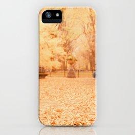 Autumn - New York City iPhone Case