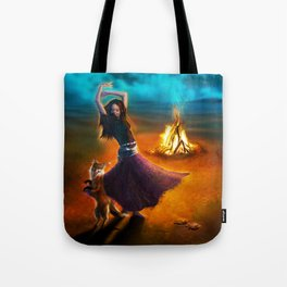Dance Like A Dervish Tote Bag