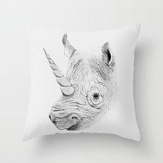 Rhinoplasty Throw Pillow
