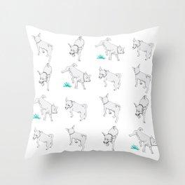 Karson the Chihuahua Throw Pillow