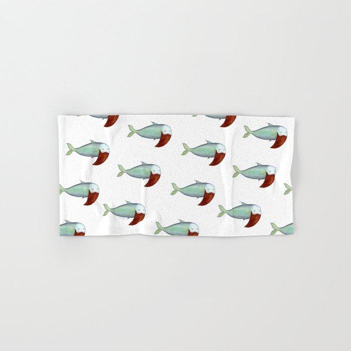 fish with beard Hand & Bath Towel