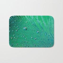 Emerald Feather Bath Mat