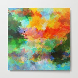 Abstract Painting - Landscape Metal Print