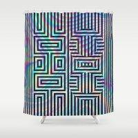 xoxo Shower Curtains featuring xoxo by Marta Olga Klara