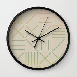 Geometric Shapes 11 Gradient Wall Clock