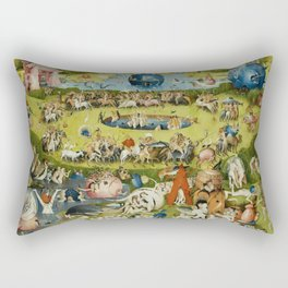 Hieronymus Bosch Rectangular Pillow