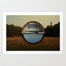 w/e Art Print