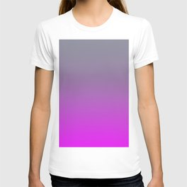 GET LOST - Minimal Plain Soft Mood Color Blend Prints T-shirt