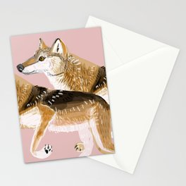 Totem Honshu Wolf Stationery Cards