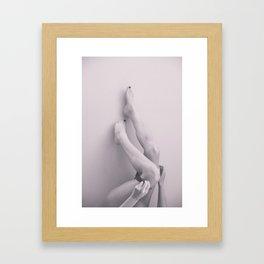Untitled legs, 2015. Framed Art Print