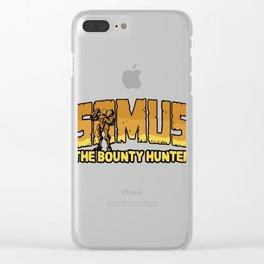 Samus the Bounty Hunter Clear iPhone Case