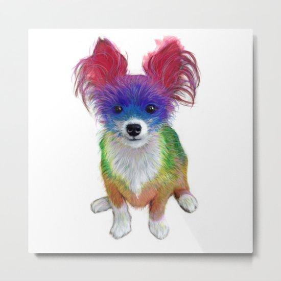 Small Dog Metal Print