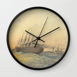 The Great Eastern Wall Clock
