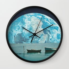 Clair de terre Wall Clock