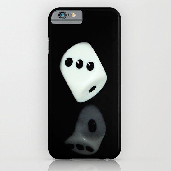 Dice on Black iPhone & iPod Case