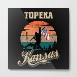 Topeka Kansas Metal Print