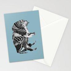 BLUE BISONTE-. Stationery Cards