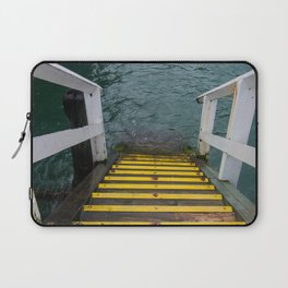 Yellow Steps Down Laptop Sleeve