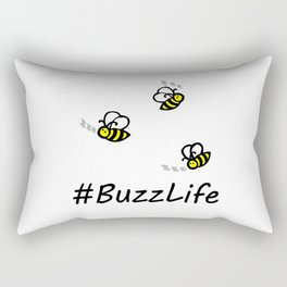 #BuzzLife Rectangular Pillow