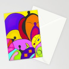 Can you feel the music Stationery Cards