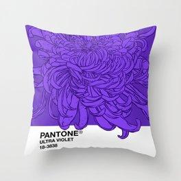 Pantone Ultra Violet 2018 Throw Pillow