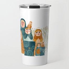 matryoshkas Travel Mug