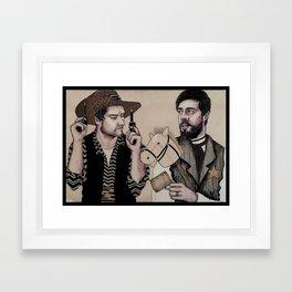 Cowboys Framed Art Print