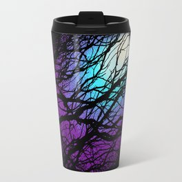 lights in the forest Travel Mug