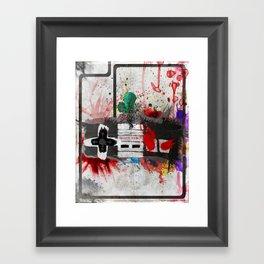 RETRO NES Framed Art Print