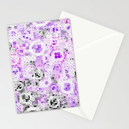 Funny Mix of Shapes 3B Stationery Cards