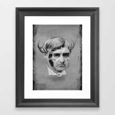 The Melting Man Framed Art Print