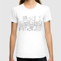 kitchen T-shirts featuring Kitchen by Frances Roughton