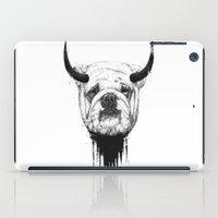 bulldog iPad Cases featuring Bulldog by Balazs Solti