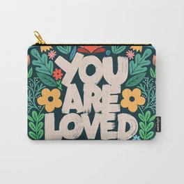 you are loved - color garden Carry-All Pouch