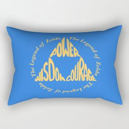 Triforce Rectangular Pillow