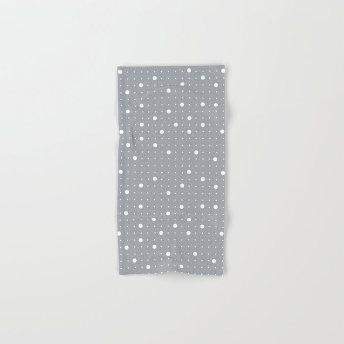 Pin Points Grey Hand & Bath Towel