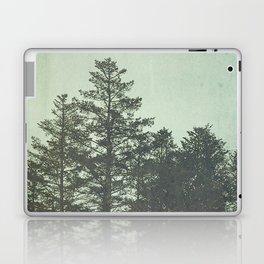 Trees in Fog Laptop & iPad Skin