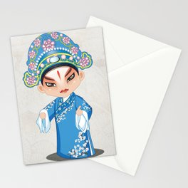 Beijing Opera Character LiuMengMei Stationery Cards