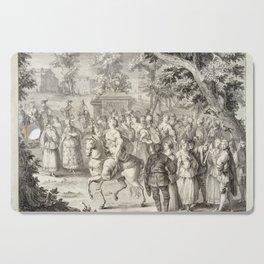 A.J. Defehrt - Cortège of Aurora (1764) Cutting Board