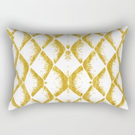 Golden Mermaid Rectangular Pillow