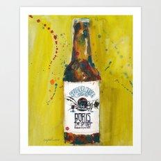 Spider Bite Beer Co. Art Print
