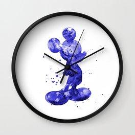 Mickey Mouse navy Wall Clock
