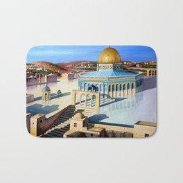 Dome of the rock-JERUSALEM Bath Mat