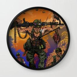 War Machine - The Nam Dude Wall Clock