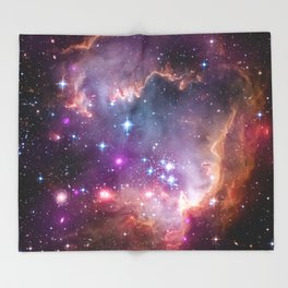 Under the Wing of the Small Magellanic Cloud Throw Blanket