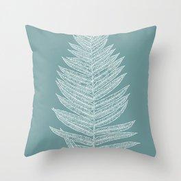 Modern Minimalist Botanical Throw Pillow
