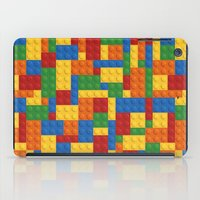 wwe iPad Cases featuring Lego bricks by eARTh
