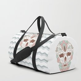 SKULL IN PASTELS Duffle Bag