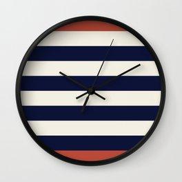 Stripes - Nautical Wall Clock