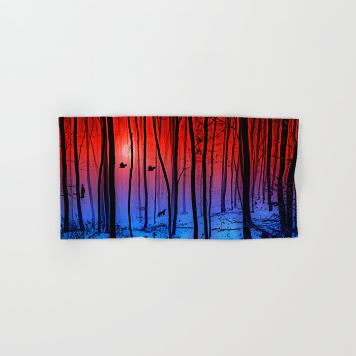 Mystical forest Hand & Bath Towel